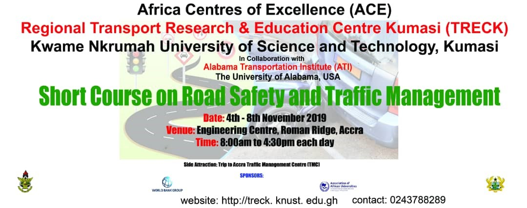 Short course on road safety and traffic management